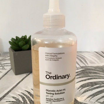 Photo of The Ordinary Glycolic Acid 7% Toning Solution uploaded by Linda C.
