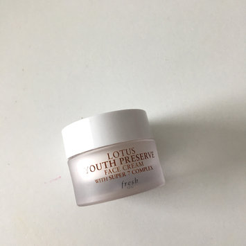 Photo of fresh Lotus Youth Preserve Face Cream uploaded by Camille O.
