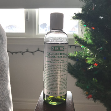 Photo of Kiehl's Cucumber Herbal Alcohol-Free Toner uploaded by Em M.