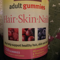 Nature Made Adult Gummies Hair-Skin-Nails Mixed Berry Cranberry & Blueberry 90 Gummies uploaded by Jenna G.