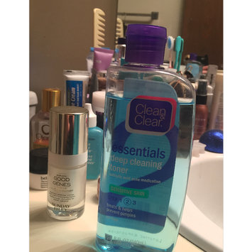 Photo of Clean & Clear® Essentials Deep Cleaning Toner For Sensitive Skin uploaded by Cathy B.