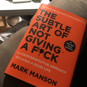 Photo of The Subtle Art of Not Giving a F*ck: A Counterintuitive Approach to Living a Good Life uploaded by Nikki N.