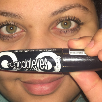 Photo of Rimmel London Scandaleyes Retro Glam Mascara uploaded by CydneyJayce H.