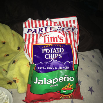 Photo of Tim's® Cascade Style Potato Chips Jalapeno Seasoned 16 oz. Bag uploaded by George Ann S.