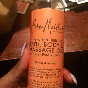 Photo of SheaMoisture Cocnut & Hibiscus Bath, Body & Massage Oil uploaded by Lonnesha D.