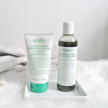 Photo of Kiehl's Cucumber Herbal Alcohol-Free Toner uploaded by Catherine R.