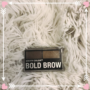 Photo of City Color E-0007-3 Bold Brow Kit - Medium to Dark uploaded by Andrea C.
