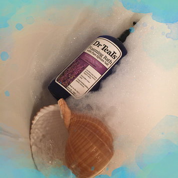 Photo of Dr. Teal's Foaming Bath, Soothe & Sleep with Lavender 34 fl oz uploaded by Madell S.