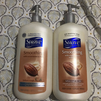 Photo of Suave® Smoothing with Cocoa Butter & Shea Body Lotion uploaded by Niiry B.