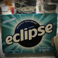 Wrigley's Eclipse Sugar Free Gum Peppermint - 18 CT uploaded by Camz A.