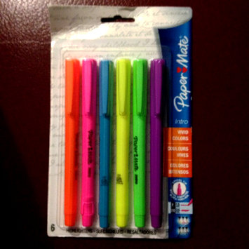 Photo of Papermate Highlighter Assortment 22776 by Sanford uploaded by Nka k.