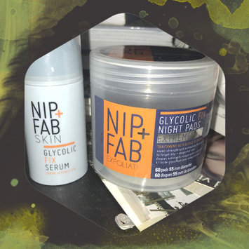 Photo of Nip + Fab Exfoliate Glycolic Fix Night Pads Extreme uploaded by Luisanna C.