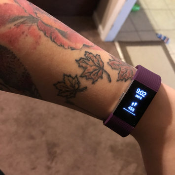Photo of Fitbit Charge 2 - Plum, Small by Fitbit uploaded by Taylor B.