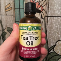 Spring Valley Pharmaceutical Grade Tea Tree Oil 2 fl oz uploaded by Jill R.