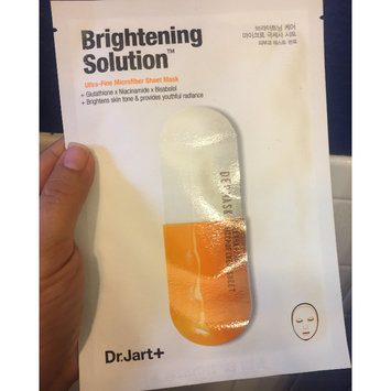 Photo of Dr. Jart+ Brightening Solution(TM) Ultra-Fine Microfiber Sheet Mask 1 Mask uploaded by VAL V.