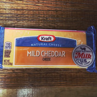 Kraft Natural Cheese Cheddar Mild Chunk Cheese 8 Oz Brick uploaded by MK J.