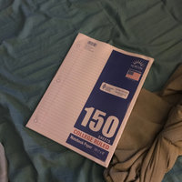 Filler Paper, College Rule, 150 Sheets, 150 sheets uploaded by Krista P.