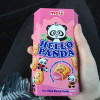 MEIJI Hello Panda Biscuit with Strawberry Cream Filling uploaded by Dani C.