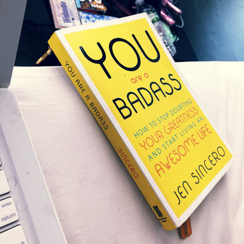 Photo of You Are a Badass: How to Stop Doubting Your Greatness and Start Living an Awesome Life uploaded by Johnay C.