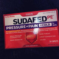 Sudafed Pressure & Pain & Cold Tablets, 24 ea uploaded by Robbye B.