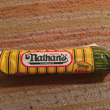 Photo of Nathan's Famous Bigger Than The Bun Skinless Beef Franks - 8 CT uploaded by Jill R.