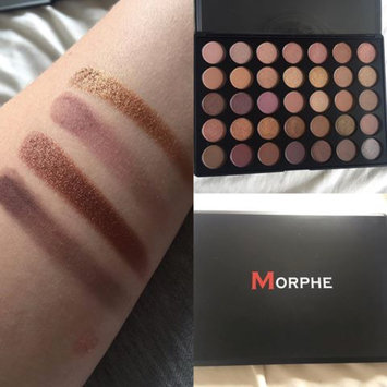 Photo of Morphe T35 Taupe Eyeshadow Pallet uploaded by Dana W.