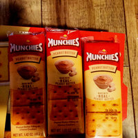 Munchies Sandwich Crackers Peanut Butter on Cheese Crackers - 8 PK uploaded by Robbye B.