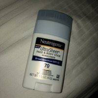 Neutrogena® Ultra Sheer® Face + Body Stick Sunscreen Broad Spectrum SPF 70 uploaded by Casey D.