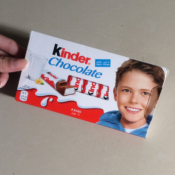 Photo of Kinder® Chocolate uploaded by M M.