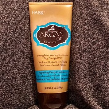 Photo of Hask Argan Oil Intense Deep Conditioning Hair Treatment uploaded by Desiree T.