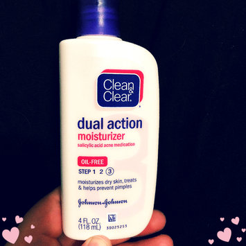 Photo of Clean & Clear® Essentials Dual Action Moisturizer uploaded by Emily H.