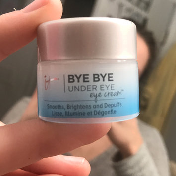 Photo of IT Cosmetics Bye Bye Under Eye Eye Cream(TM) Smooths, Brightens, Depuffs 0.5 oz uploaded by Bailey N.