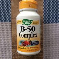 Natures Way Vitamin B 50 Complex, 100 PC uploaded by Olenka B.