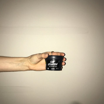 Photo of LUSH Cup O' Coffee Face and Body Mask uploaded by shelby d.