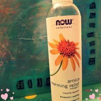 NOW Foods - Arnica Warming Relief Massage Oil - 8 oz. uploaded by Fahmina R.