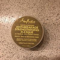 SheaMoisture Yucca & Plantain Anti-Breakage Strengthening Masque w/ Baobob Oil & Cilantro Extract uploaded by Krysteena L.
