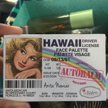 Photo of the Balm Autobalm Hawaii Face Palette uploaded by Jada🥀 j.