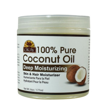 Photo of Okay Coconut Oil for Hair and Skin in Jar uploaded by Martine D.