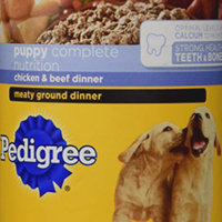 Pedigree Chopped Beef Dog Food Dinner uploaded by Carys H.