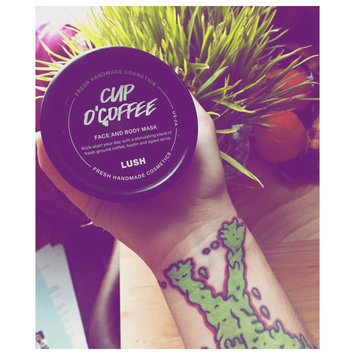 Photo of LUSH Cup O' Coffee Face and Body Mask uploaded by Mel D.