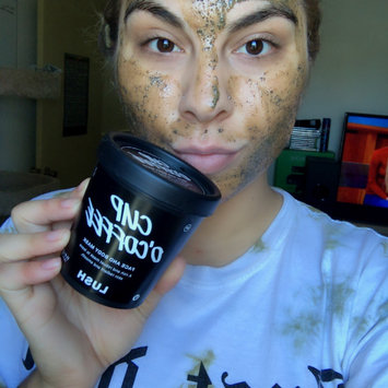 Photo of LUSH Cup O' Coffee Face and Body Mask uploaded by Regina M.