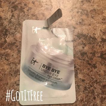 Photo of IT Cosmetics Bye Bye Under Eye Eye Cream(TM) Smooths, Brightens, Depuffs 0.5 oz uploaded by Stephanie B.
