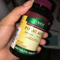 Finest Nutrition Folic Acid 400 Mcg Dietary Supplement Tablets uploaded by Nicole C.