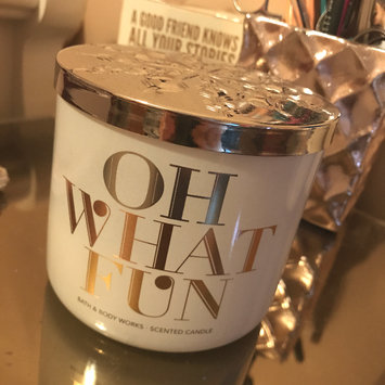 Photo of Bath & Body Works 1 X Bath and Body Works Winter Candy Apple 3 Wick Scented Candle 14.5 Oz. 2014 Edition uploaded by Nicolette C.