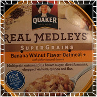 Quaker® Real Medleys Supergrains Oatmeal Banana Walnut uploaded by Valerie C.