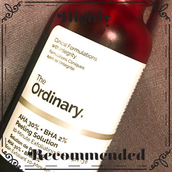 Photo of The Ordinary AHA + BHA 2% Peeling Solution uploaded by Allyson A.