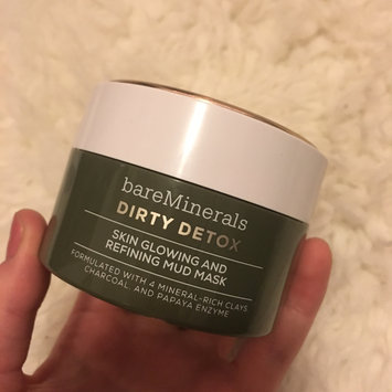 Photo of bareMinerals Dirty Detox™ Skin Glowing & Refining Mud Mask uploaded by Clairah H.