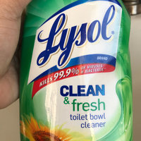 Lysol Clean & Fresh Toilet Bowl Cleaner uploaded by Vivian E.