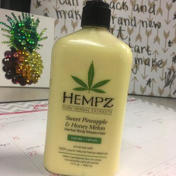 Photo of Hempz Sweet Pineapple & Honey Melon Moisturizer uploaded by Jennifer B.