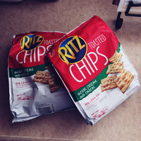 Nabisco RITZ Sour Cream & Onion Toasted Chips uploaded by Andrea F.